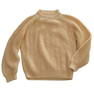 Lindsey Blake Vintage Cable Knit Sweater 80s
